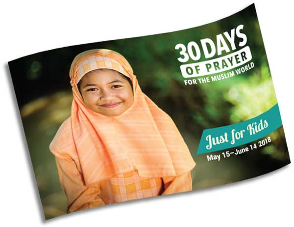 30 Days Prayer Guide Just for Kids