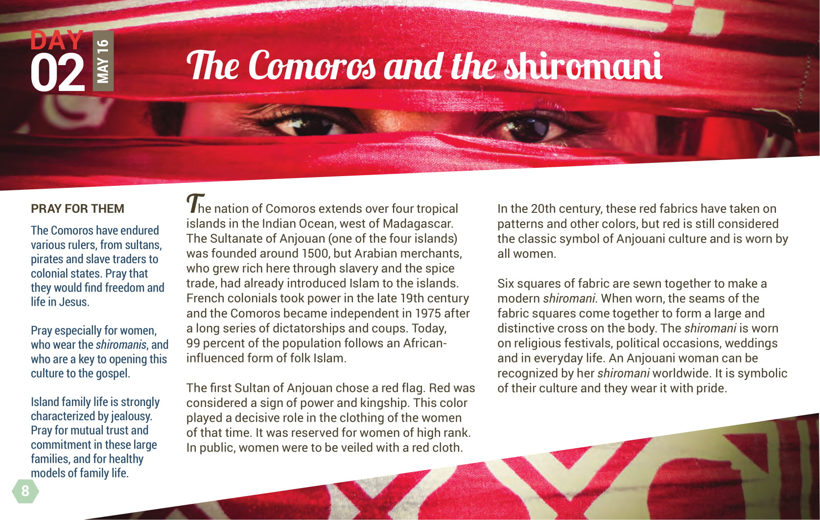 Day 02 - The Comoros and the shiomani