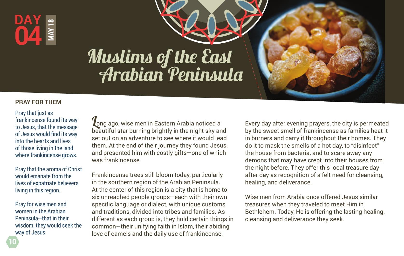 Day 04 - Muslims of the East Arabian Peninsula