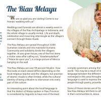 Day 11 - The Riau Melayu