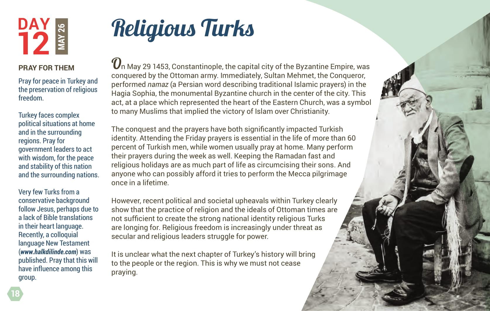 Day 12 - Religious Turks