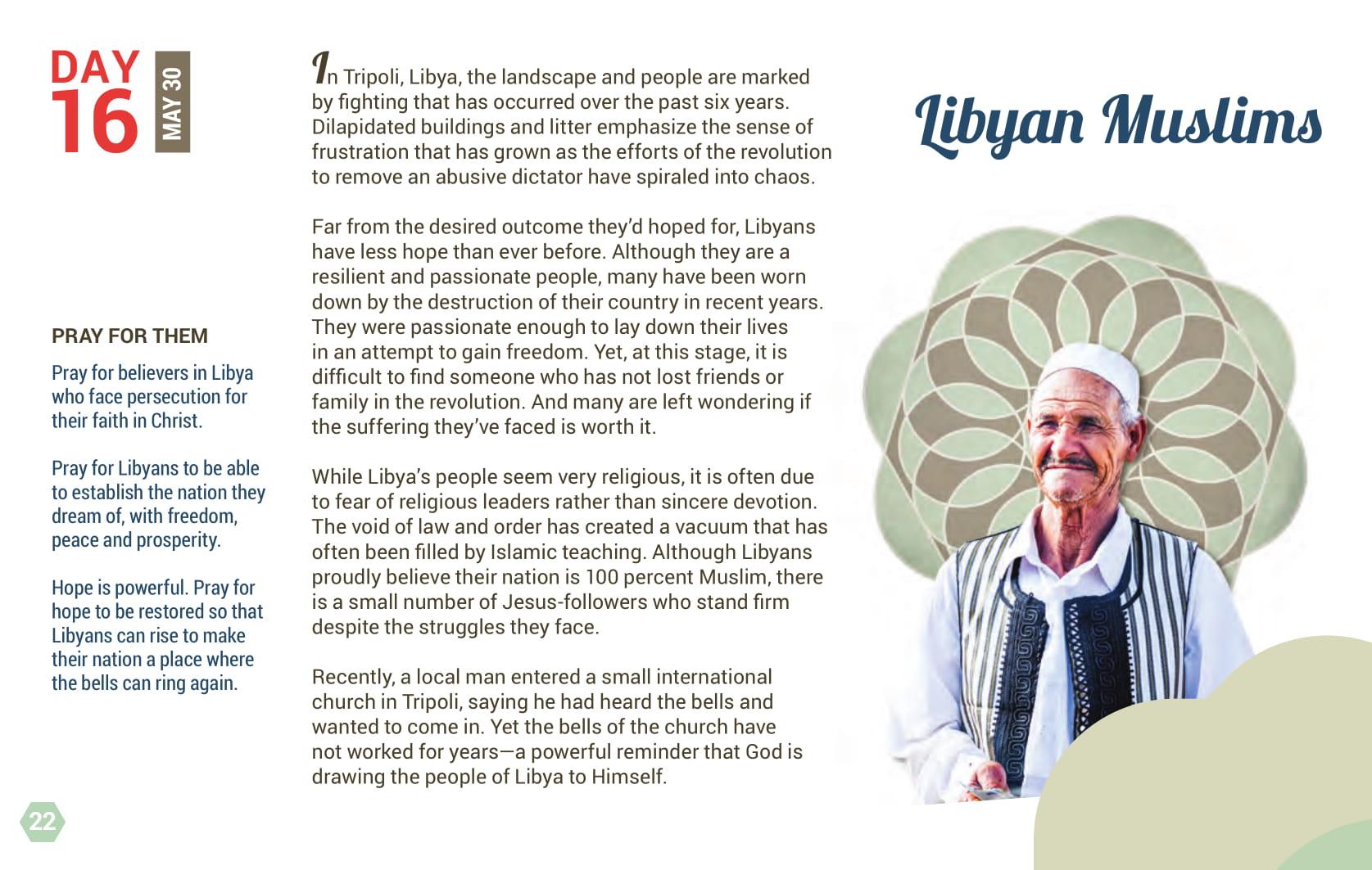 Day 16 - Libyan Muslims