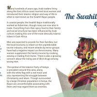 Day 20 - The Swahili Bajun of Kenya