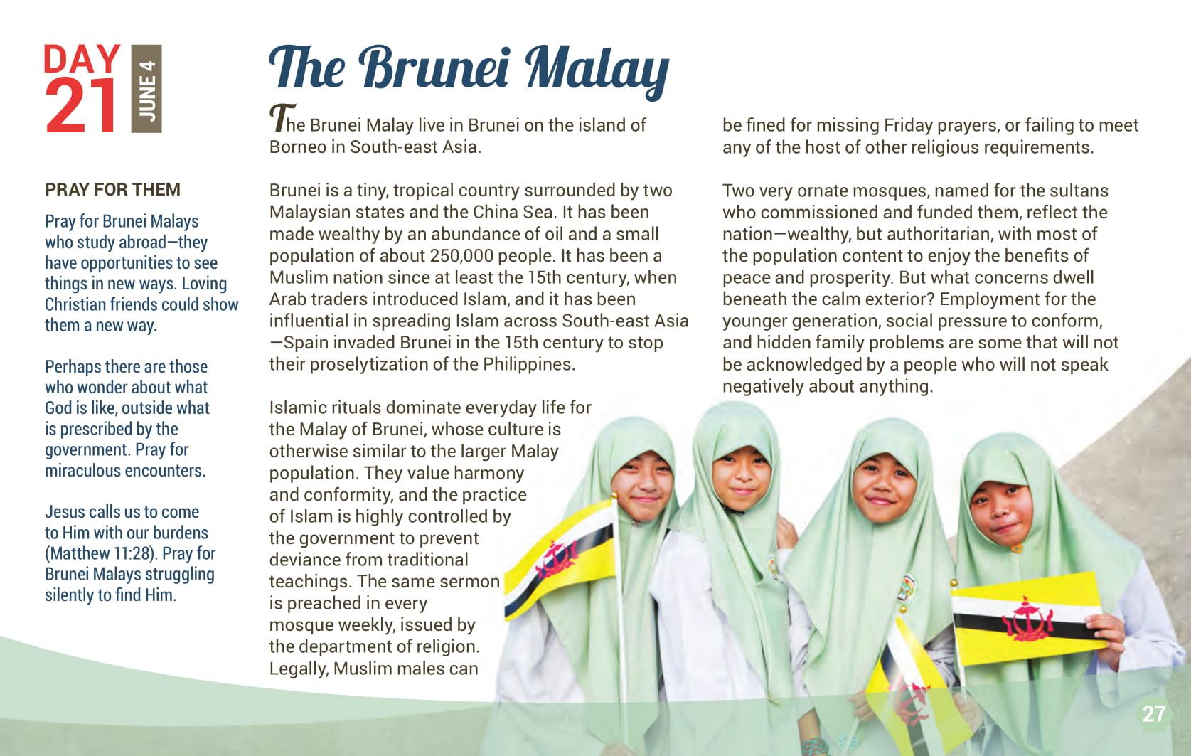 Day 21 - The Brunei Malay