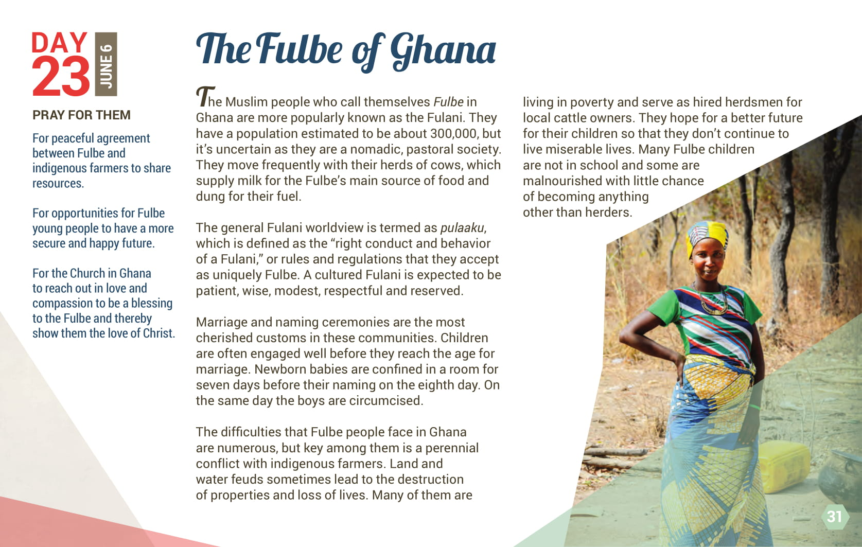 Day 23 - The Fulbe of Ghana