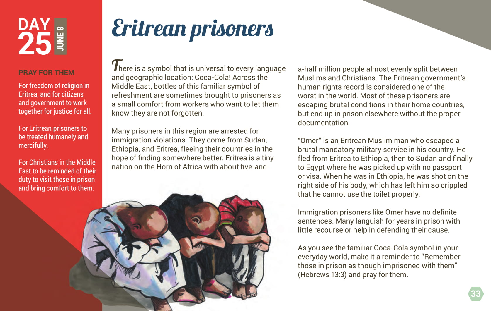 Day 25 - Eritrean prisoners