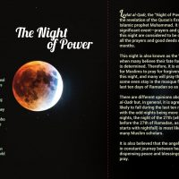 Day 27 - The Night of Power