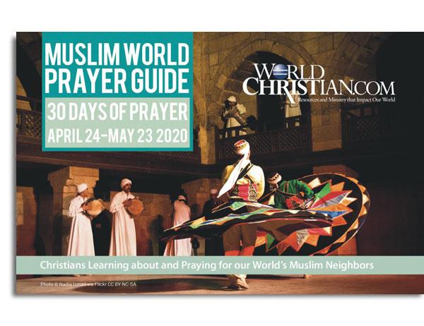 Muslim World Prayer Guide 2020