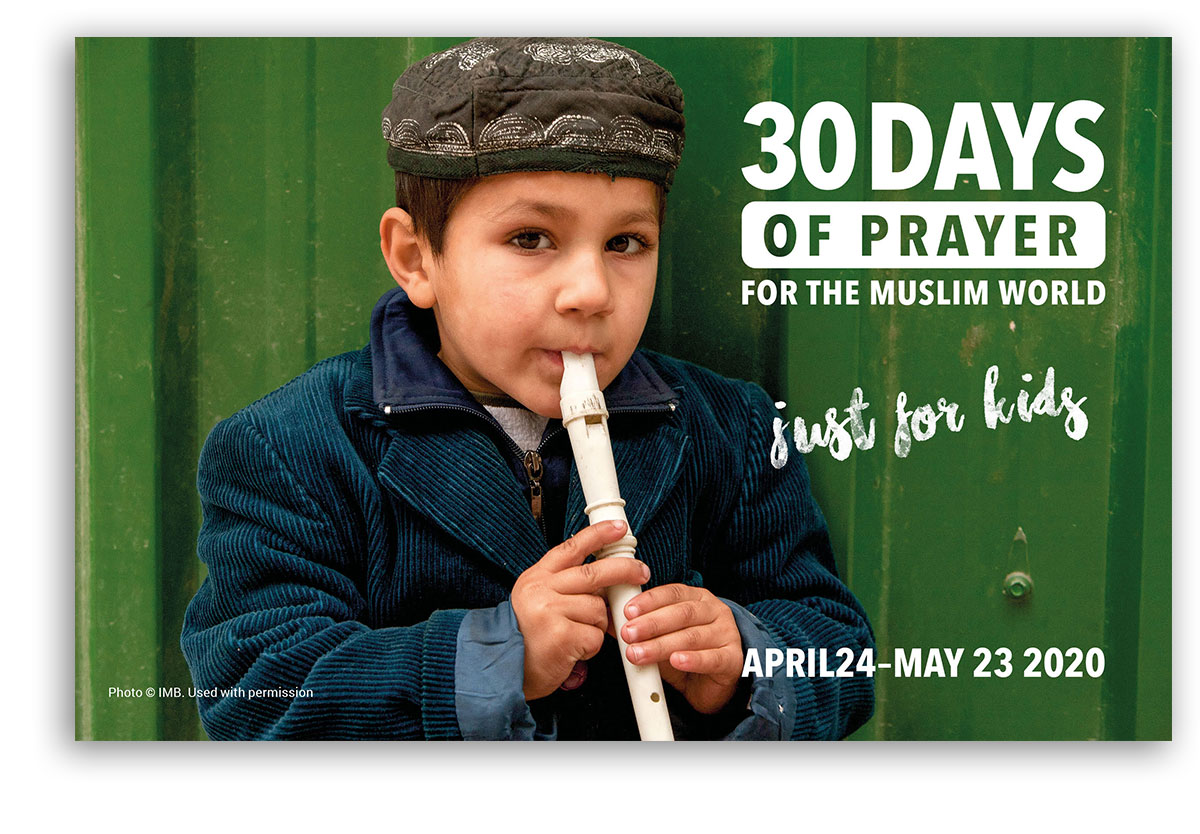 30 Days of Prayer for the Muslim World 2020 Kids