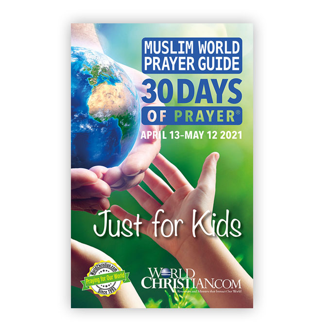 30 Days of Prayer Just for Kids 2021
